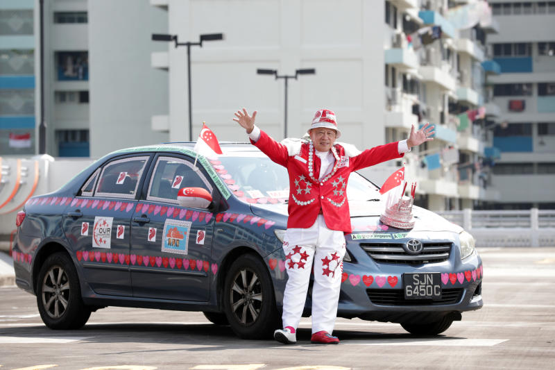 Image result for singapore national day car