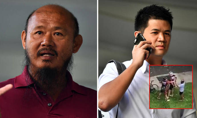Cyclist and lorry driver in viral Pasir Ris altercation charged in court