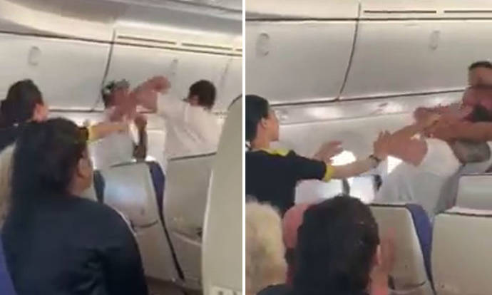 Singapore-bound Scoot flight diverted after unruly man punches fellow passenger