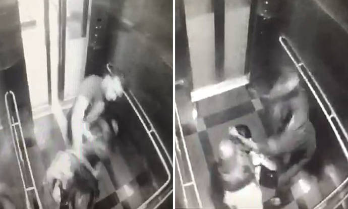 Woman gets brutally beaten up in Malaysia MRT lift robbery