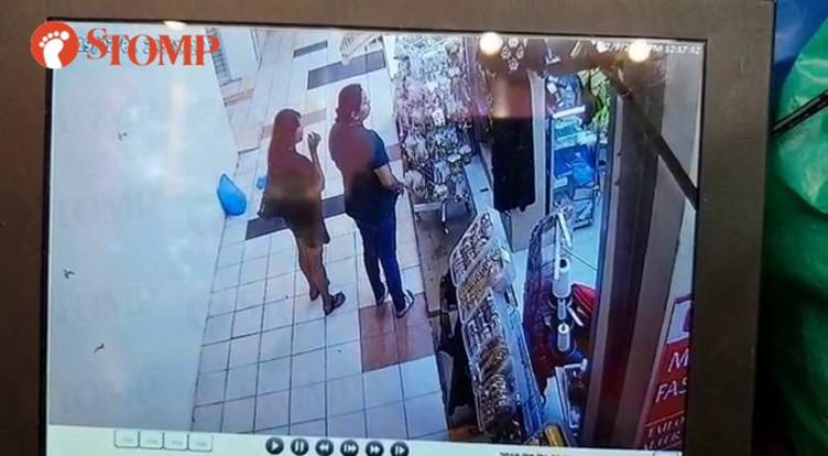 Woman allegedly slips $40 necklace into her bag at Tekka Market